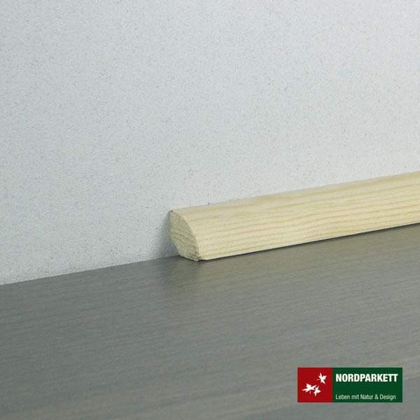 Sockelleiste 14 x 14 mm Kiefer roh