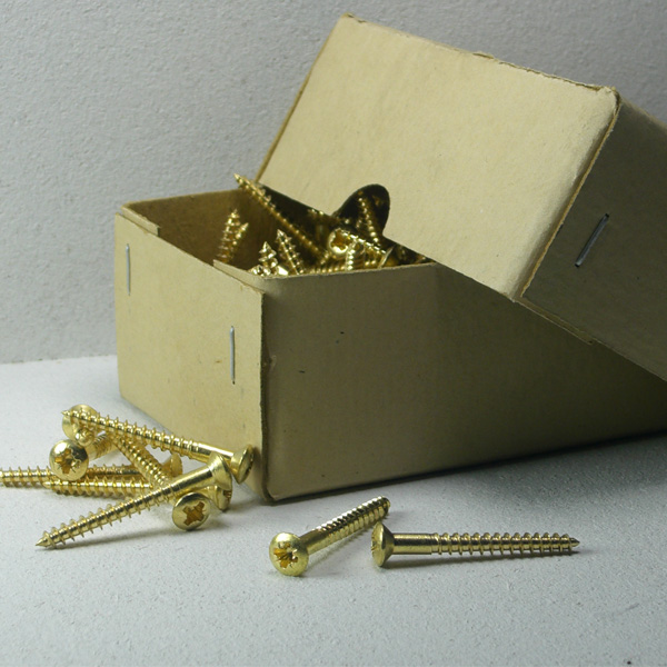 Messingschrauben 4,0 x 50 mm