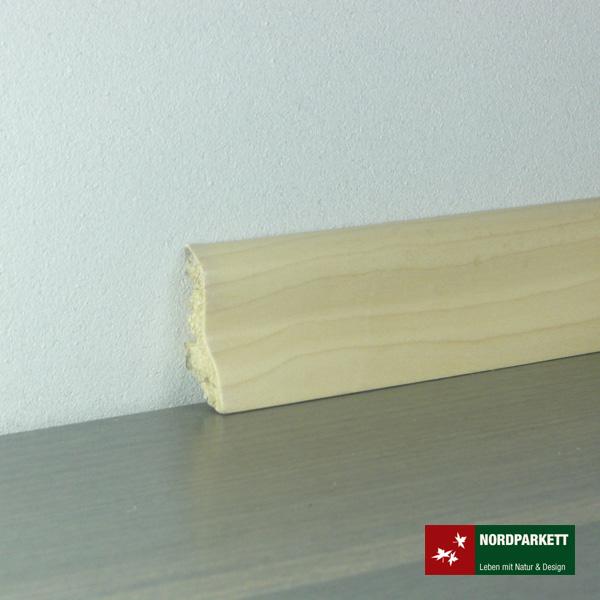 Sockelleiste 20 x 40 mm Ahorn geölt