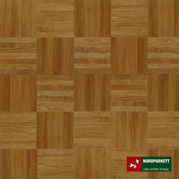 Mosaikparkett Roteiche Natur Würfelmuster 160 mm