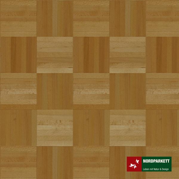 Mosaikparkett Buche ged. Natur Würfelmuster 160 mm